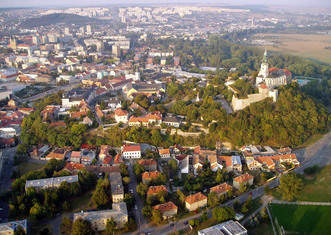 Thumb nitra view from above