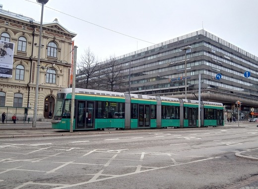 Medium tram