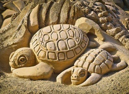 Medium sand