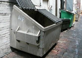 Thumb dumpster
