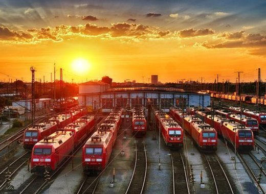 Medium trainstation