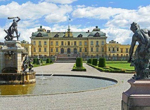 Medium drottningholm palace