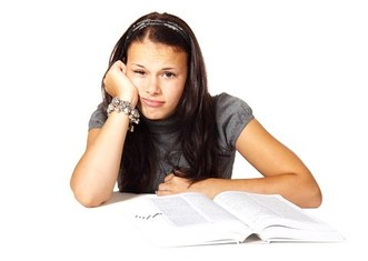 Thumb student