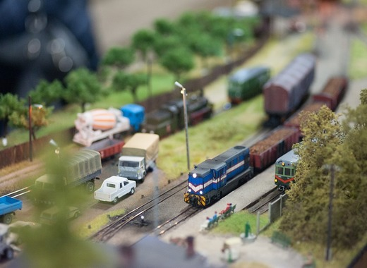 Medium model train