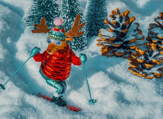 Medium ski
