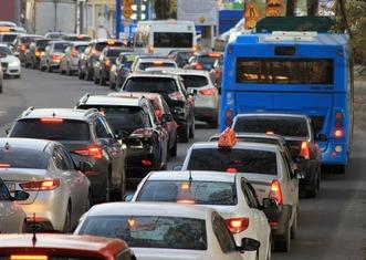 Thumb traffic jam