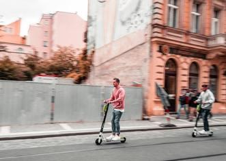 Thumb e scooters