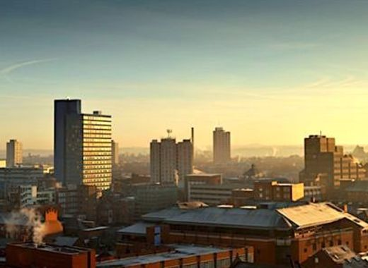 Medium central leicester skyline
