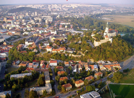 Medium nitra view from above