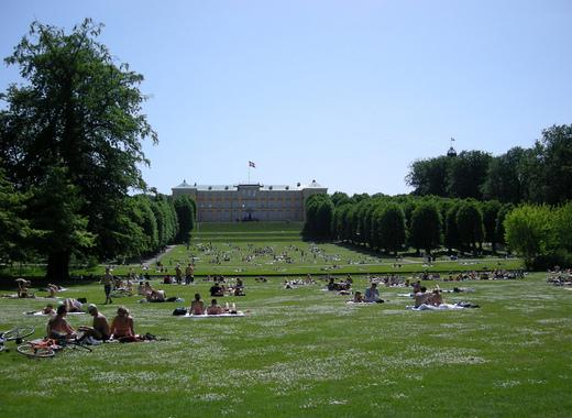 Medium frederiksberg have   palace