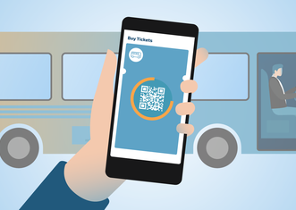 Thumb contactless ticketing is safer   new