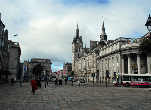 Medium aberdeen  scotland the square