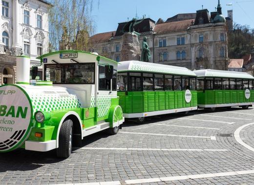 Medium electric train ljubljana