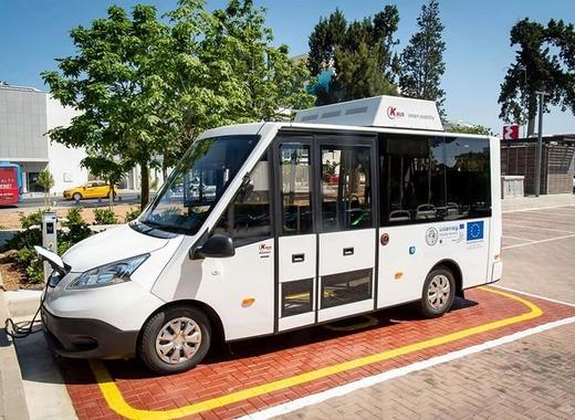 Medium paphos electric bus