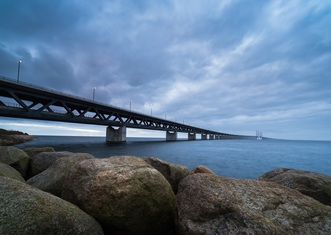 Thumb oresund bridge view from sweden