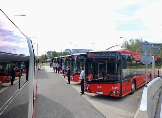 Medium bratislava buses
