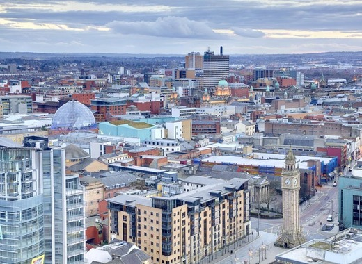 Medium belfast city skyline