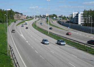 Thumb motorway 4 in helsinki finland
