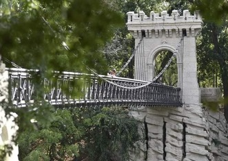 Thumb suspension bridge