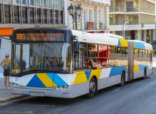 Medium x95 bus athens