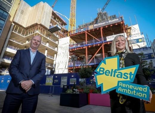 Medium suzanne wylie and joe o neill at renewed ambition launch