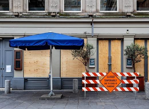Medium restaurant closed