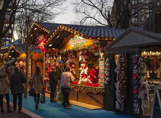 Medium christmas market