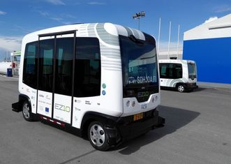 Thumb self driving bus vehicles finland helsinki transportation 1.0