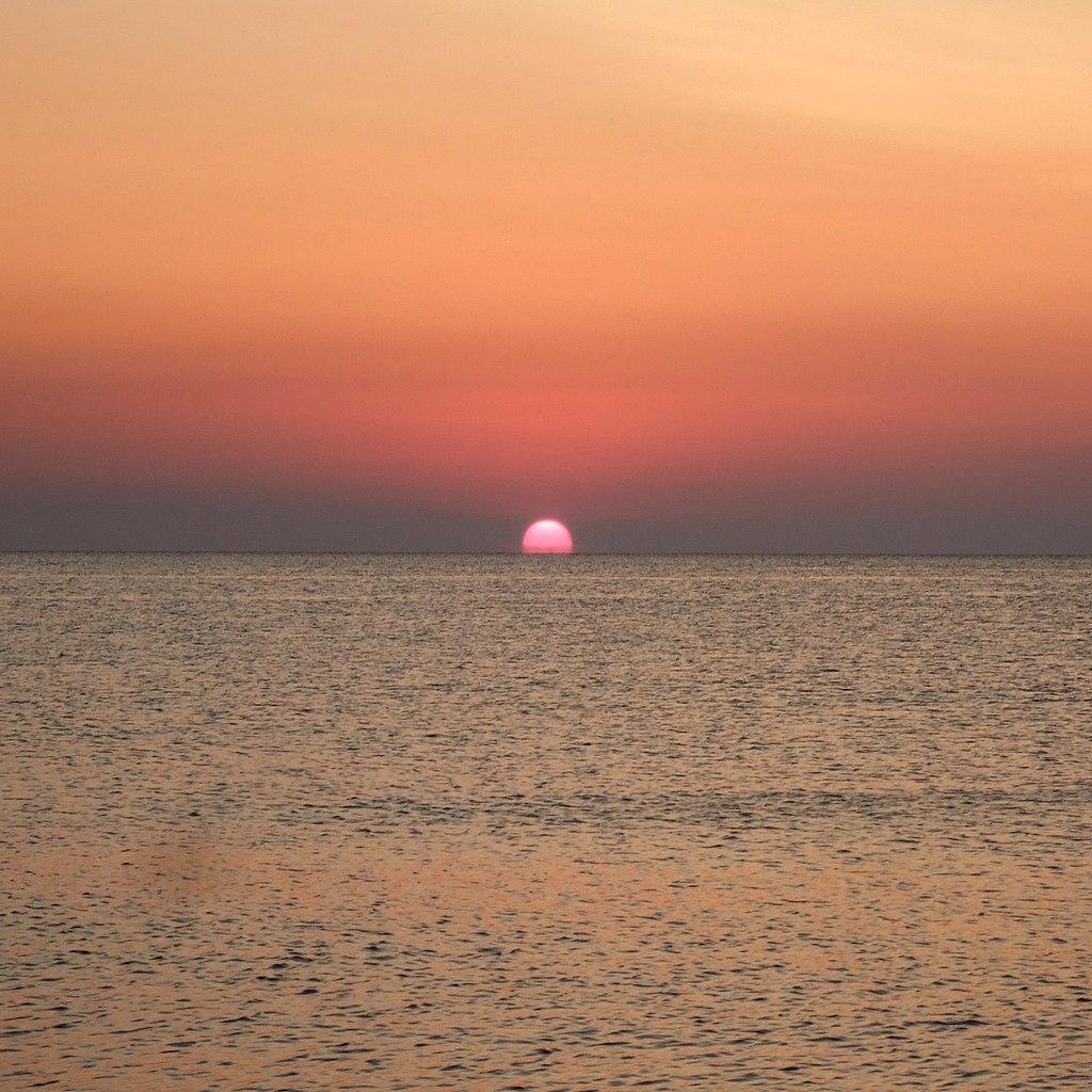 Sunrise July 1st, the Black Sea