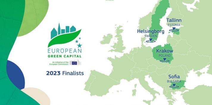 Map EU Green Cities
