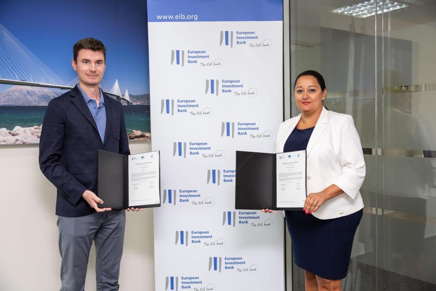 EIB signing