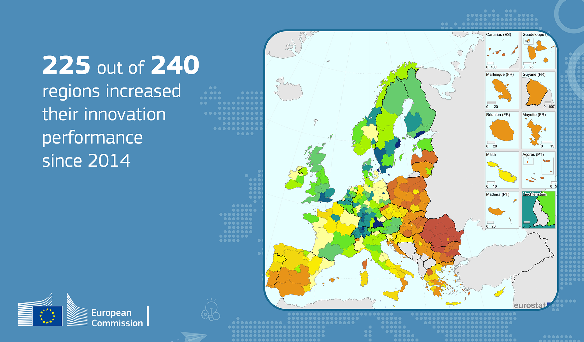Innovation Map of Europe