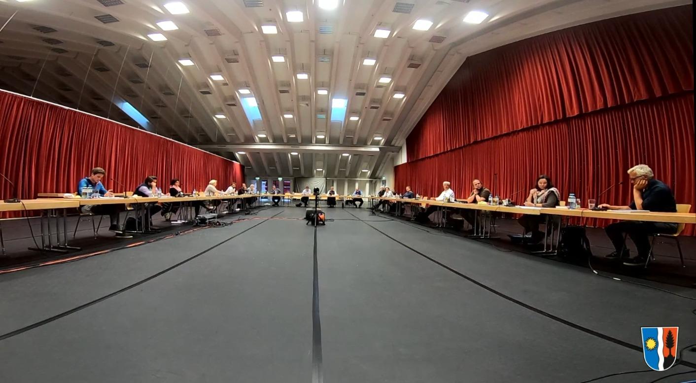 Lech council meeting