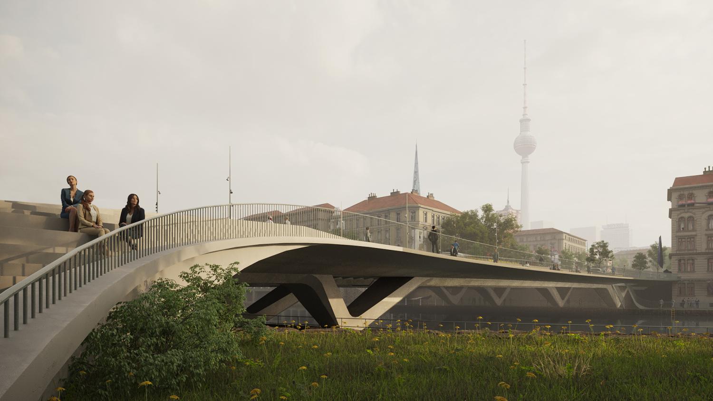 visualistaion of the new bridge