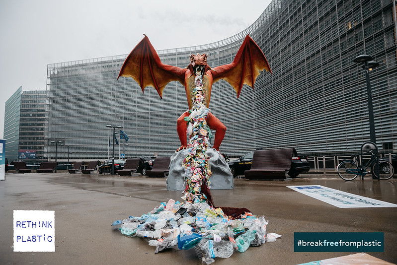 The plastic-breathing dragon